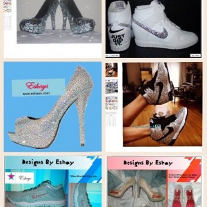 Eshays Custom Shoes - Arts & Crafts Party / Airbrush Artist in Chicago, Illinois