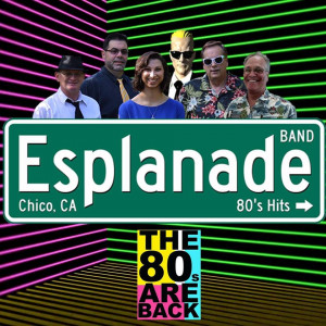 Esplanade Band - 1980s Era Entertainment in Chico, California