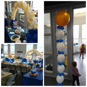 Hire essential party creations balloon decor in chicago for Balloon decoration chicago
