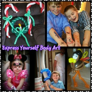 Express Yourself Body Art