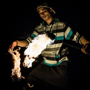 Expressive Elements - Fire Performer in Seattle, Washington