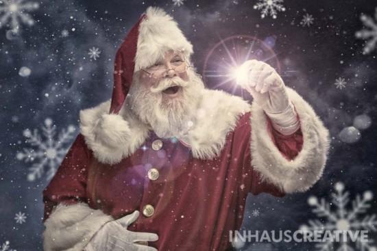 Santa Claus entregara regalos tarde a causa del clima