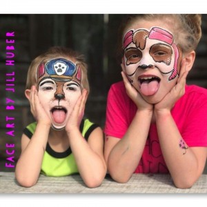 Face Art by Jill Huber & Friends, LLC - Face Painter / Halloween Party Entertainment in Lafayette, Louisiana