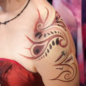 Face & Body Painting - Christine White, Artist - Face Painter in Victoria, British Columbia