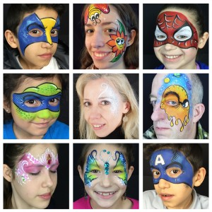 Face Paint Pizzazz - Face Painter / Outdoor Party Entertainment in Elgin, Illinois