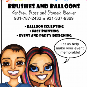 Face Painting and Balloon Sculpting - Balloon Twister in Crossville, Tennessee