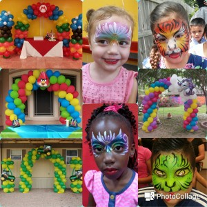 Face Painting by Abby - Face Painter / Balloon Decor in McAllen, Texas