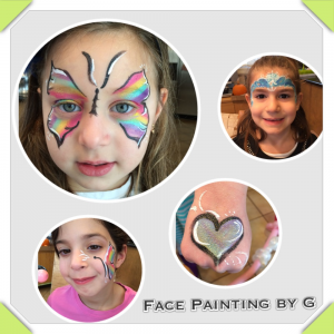 Face Painting by G - Face Painter / Outdoor Party Entertainment in Teaneck, New Jersey