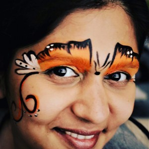Face Painting By Gazal