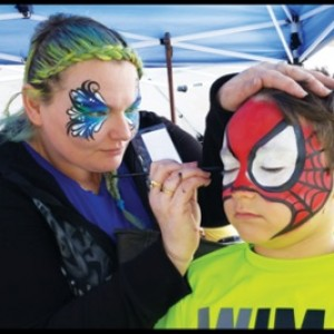 Face Painting by Kristina - Face Painter / Halloween Party Entertainment in Otto, North Carolina