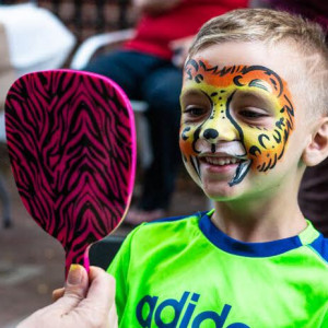 Color Carousel Face Painting - Face Painter in Ypsilanti, Michigan