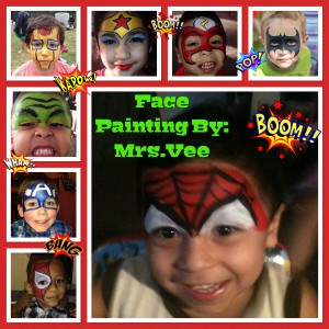 Face Painting By Ms.Vee - Face Painter / Halloween Party Entertainment in Alsip, Illinois