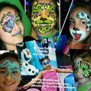 Face Painting by Nelly - Face Painter / Outdoor Party Entertainment in Atlantic City, New Jersey