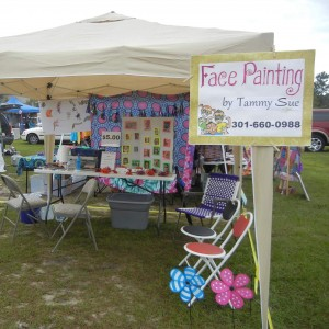 Face Painting by Tammy Sue - Face Painter / Halloween Party Entertainment in Myrtle Beach, South Carolina