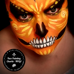 Face Painting Charlie - NOLA - Body Painter in New Orleans, Louisiana