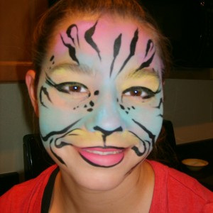 Face Painting With Glitter - Face Painter in Merced, California