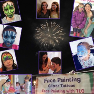 Face Painting with TLC - Face Painter / Outdoor Party Entertainment in Kingston, Pennsylvania
