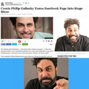 Facebook Comes Alive - Comedy Improv Show in New York City, New York