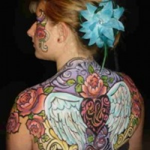 Enchanted Brushstrokes, Face and Body Painting by Amy Enright - Body Painter in Menifee, California
