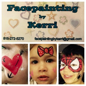 Facepainting by Kerri - Face Painter in Joliet, Illinois