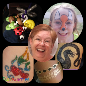 Face Paint, Temp Tats, and Balloons by Sue - Face Painter / Halloween Party Entertainment in Palm Harbor, Florida