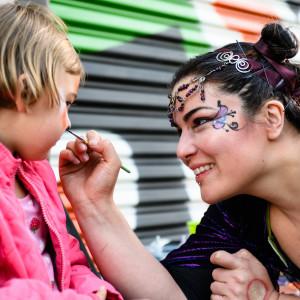 Faces Painted by a Muse - Face Painter / Fire Eater in Oakland, California