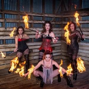 Fahrenheit Foxes - Fire Performer in Orlando, Florida