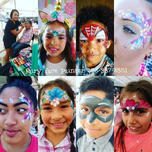 Fairy Face Painter - Face Painter in San Diego, California