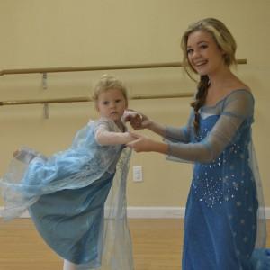 Fairytale Ballerina Birthday Parties - Ballet Dancer in Rocklin, California