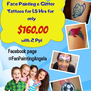 Fan Painting - Face Painter in Mississauga, Ontario