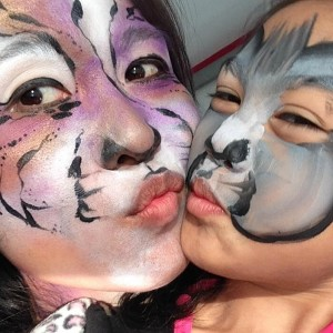 Fancy Nancy Faces - Face Painter in San Diego, California