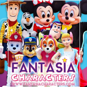 Fantasia Costumed Characters