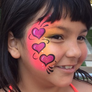 Fantastic Face Painting of Utah - Face Painter / Princess Party in South Jordan, Utah