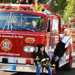 Fantastic Fire Department - Fire Truck Party / Party Inflatables in Phoenix, Arizona