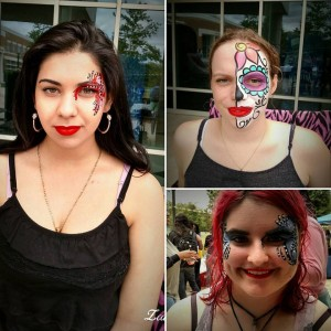 Fantasy Face Painting - Face Painter / Princess Party in Fredericksburg, Virginia
