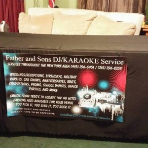 Father and Sons DJ/KARAOKE Secice - DJ / Corporate Event Entertainment in Smithville Flats, New York