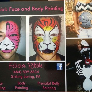 Felicia's Face and Body Painting