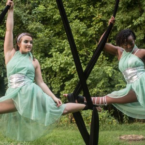 Femella Contemporalis: Duo Aerial Act - Aerialist in Baltimore, Maryland