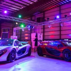 Festivals of Speed Reception Dancer