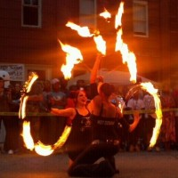 Fierce Fusion - Fire Dancer in Augusta, Georgia