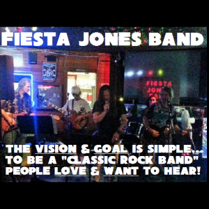Fiesta Jones Band - Classic Rock Band in San Pedro, California