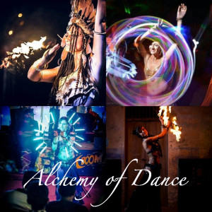 Alchemy of Dance - Fire Dancer in Miami, Florida