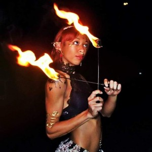 Taigen Arista - Fire Performer / Burlesque Entertainment in Tampa, Florida