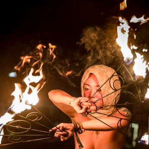 Fire Geisha - Fire Performer in Los Angeles, California