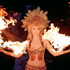Fire Goddess - Fire Dancer / Traveling Circus in New York City, New York
