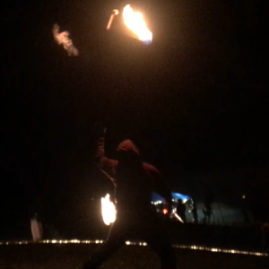 Fire Poi Spinner - Fire Performer in Southern Pines, North Carolina