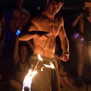 Fire Rope Dance - Fire Performer in Brooklyn, New York