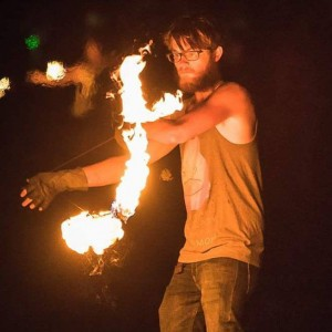 Kuro Zetsumei - Fire Performer in Fairfield, Iowa
