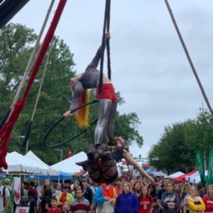 Firefly Circus - Aerialist in Raleigh, North Carolina