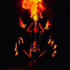 Fires From the West - Fire Performer in Miami, Florida